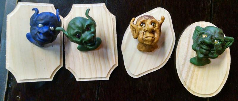 How to Sculpt a Goblin Trophy Head