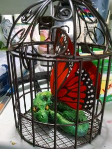 Fairy Dragon In Cage