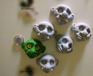 Goblin Magnet Face