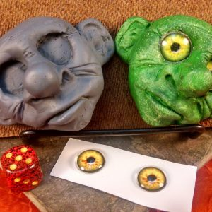 Goblin Face Magnet