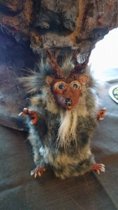 OOAK Woodland Fantasy Hedgehog