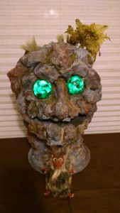 Earth Elemental Head