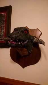 Black Dragon Trophy Plaque