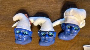 Smurf Trophy Heads